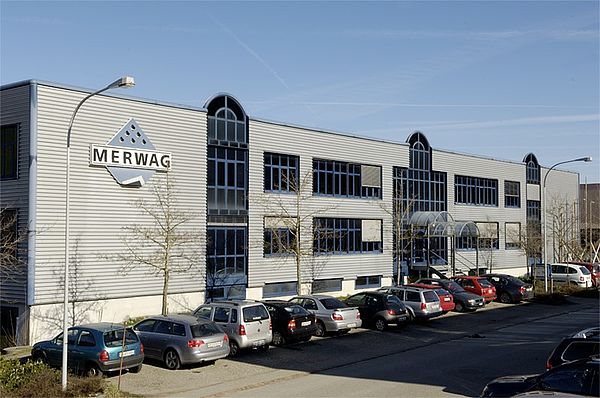 Company building Merwag Gibswil AG